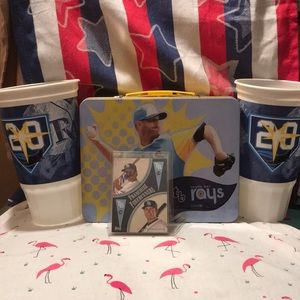 Tampa Bay Rays Fan Lot Wil Myers Autograph + 3More